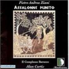 Assalonne Punito - CD Audio di Pietro Andrea Ziani