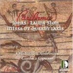 Missa Ut Queant Laxis - CD Audio di Giacomo Carissimi