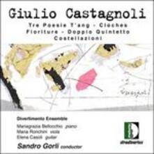 Tre Poesie T'ang - CD Audio di Giulio Castagnoli