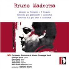 Liriche su Verlaine - CD Audio di Bruno Maderna
