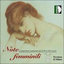 Note Femminili - CD Audio di Bianca Maria Meda