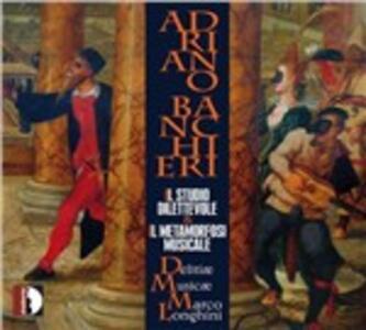 Il studio dilettevole - Il metamorfosi musicale - CD Audio di Adriano Banchieri