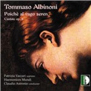 Cantate Op.4 - CD Audio di Tomaso Giovanni Albinoni