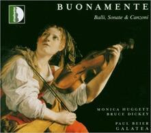 Balli - Sonate - Canzoni - CD Audio di Monica Huggett,Giovanni Battista Buonamente
