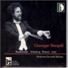 Ebridi Op.26 Caverna di Fingal - CD Audio di Felix Mendelssohn-Bartholdy,Giuseppe Sinopoli
