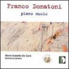 Piano Music - CD Audio di Franco Donatoni