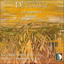 Capricci Nn.1-12 per Violino Solo - CD Audio di Francesco De Guarnieri