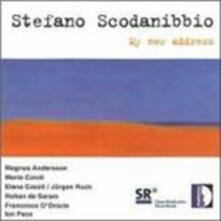My New Address per Violino - CD Audio di Stefano Scodanibbio