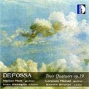 3 Quartetti op.19 - CD Audio di Matteo Mela,Lorenzo Micheli,Enrico Bronzi,Ivan Rabaglia