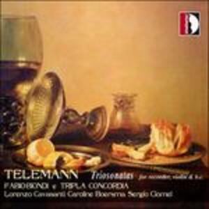 Triosonata Twv 42.d10 per Flauto Violino e bc - CD Audio di Georg Philipp Telemann