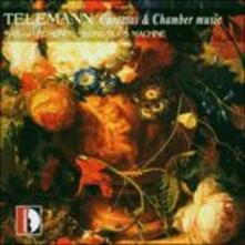 Cantatas & Chamber Music - CD Audio di Georg Philipp Telemann