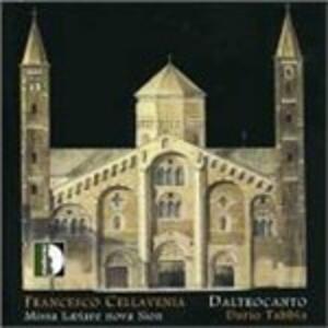 Missa Laetare Nova Sion - CD Audio di Francesco Cellavenia
