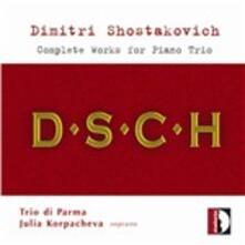 Trii con pianoforte completi - CD Audio di Dmitri Shostakovich