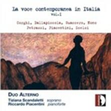 La voce contemporanea in Italia vol.1 - CD Audio di Duo Alterno