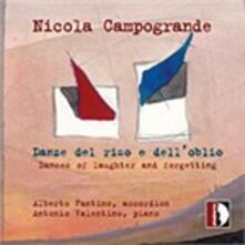 Danze Del Riso e Dell'oblio - CD Audio di Nicola Campogrande