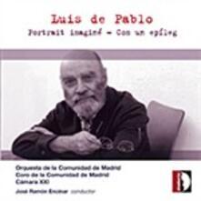 Portrait Imaginé - CD Audio di Luis De Pablo