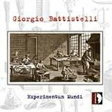 Experimentum Mundi - CD Audio di Giorgio Battistelli