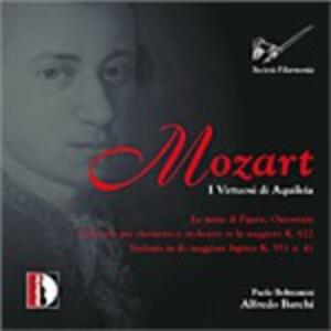 Sinfonia n.41 - Concerto per clarinetto - CD Audio di Wolfgang Amadeus Mozart