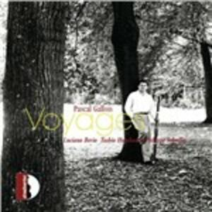Sequenza XII / Voyage II / Cantate Isis - CD Audio di Luciano Berio,Toshio Hosokawa,Philippe Schoeller