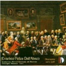 Sonate per violino op.1 n.2, n.4, n.5, n.8 - CD Audio di Evaristo Felice Dall'Abaco,Insieme Strumentale di Roma,Giorgio Sasso