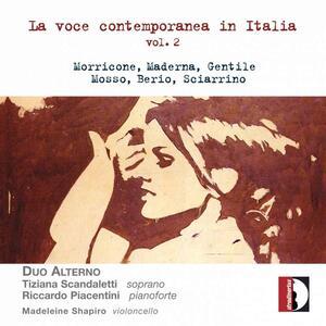La voce contemporanea in Italia vol.2 - CD Audio di Duo Alterno