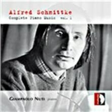L'opera completa per pianoforte vol.1 - CD Audio di Alfred Schnittke