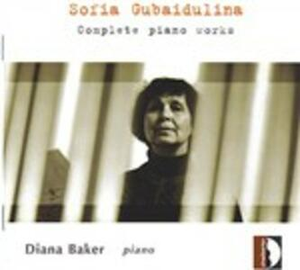 L'opera completa per pianoforte - CD Audio di Sofia Gubaidulina,Diana Baker