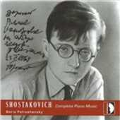 CD L'opera completa per pianoforte Dmitri Shostakovich Boris Petrushansky