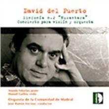 Sinfonia n.2 - Concerto per violino - CD Audio di José Ramon Encinar,David Del Puerto