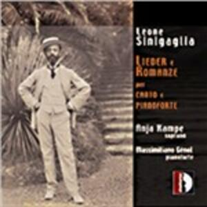 Lieder - Romanze - CD Audio di Leone Sinigaglia