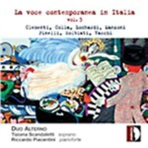 La voce contemporanea in Italia vol.3 - CD Audio