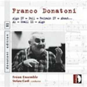 Edition vol.6 - CD Audio di Franco Donatoni