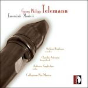 Essercizii Musici - CD Audio di Georg Philipp Telemann