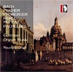 Musiche tedesche per organo - CD Audio di Maurizio Croci