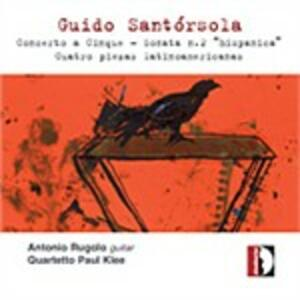 Musiche per chitarra - CD Audio di Guido Santorsola