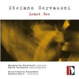 Least Bee - CD Audio di Stefano Gervasoni