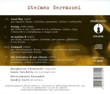 Least Bee - CD Audio di Stefano Gervasoni - 2