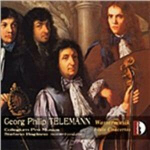 Wassermusik - CD Audio di Georg Philipp Telemann