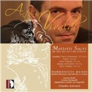 Mottetti sacri - Laudate Pueri - Salve Regina - Kyrie - Lauda Jerusalem - CD Audio di Antonio Vivaldi,Claudio Astronio,Harmonices Mundi