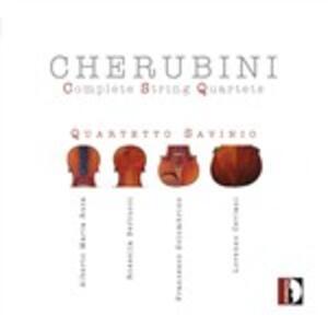 Quartetti per archi completi - CD Audio di Luigi Cherubini
