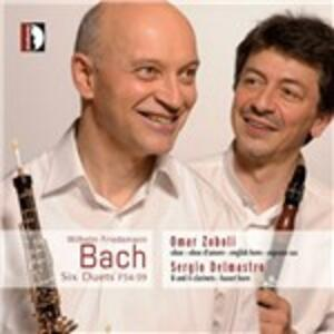 6 Duetti F54, F55, F56, F57, F58, F59 - CD Audio di Wilhelm Friedemann Bach