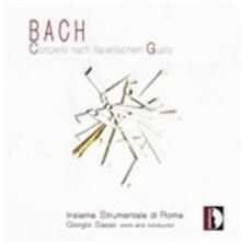 Italienischer Gusto - CD Audio di Johann Sebastian Bach,Insieme Strumentale di Roma,Giorgio Sasso