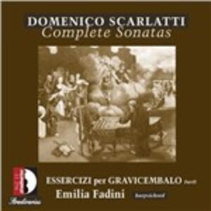 Esercizi per gravicembalo vol.2 - CD Audio di Domenico Scarlatti,Emilia Fadini