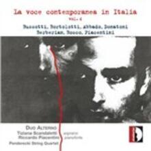La voce contemporanea in Italia - CD Audio di Sylvano Bussotti