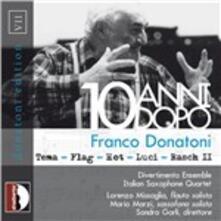 10 Anni dopo - CD Audio di Franco Donatoni