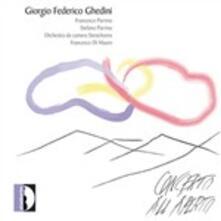 Concerto All'aperto - CD Audio di Giorgio Federico Ghedini