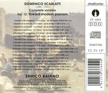 Sonate vol.12 - CD Audio di Domenico Scarlatti - 2