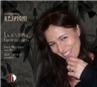 La sensitiva. Liriche da camera - CD Audio di Ottorino Respighi,Sara Mingardo