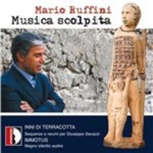 Musica scolpita - CD Audio di Mario Ruffini