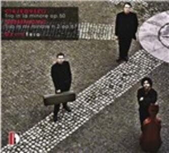 Trio op.50 / Trio op.67 n.2 - CD Audio di Dmitri Shostakovich,Pyotr Il'yich Tchaikovsky,David Piano Trio
